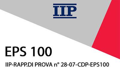IIP-RAPP.DI PROVA n° 29-07-CDP EPS100