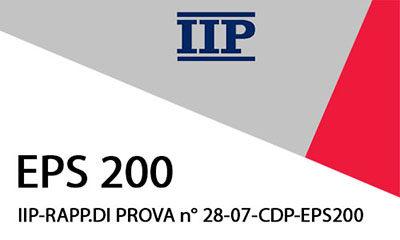 IIP-RAPP.DI PROVA n° 31-07-CDP EPS200