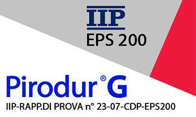 IIP-RAPP.DI PROVA n° 23-07-CDP -EPS200