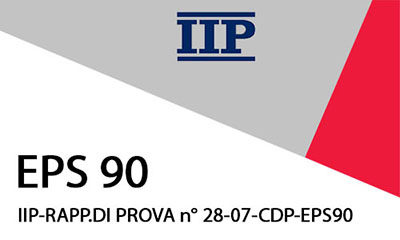 IIP-RAPP.DI PROVA n° 28-07-CDP EPS90