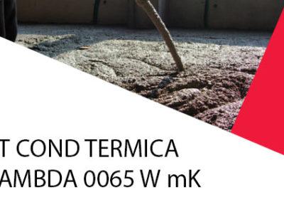 ST COND TERMICA LAMBDA 0065 W mK